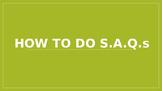 How to answer SAQS (AP US History)