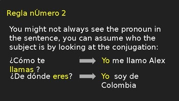 How to answer in complete sentence in Spanish