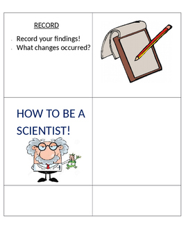 How to be A scientist!