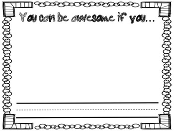 How to be Awesome! *Class Book* -Inspired by Kid President
