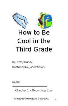 How to be Cool in Third Grade student booklet