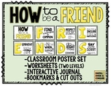 How to be a FRIEND! (Canary Yellow Edition) Poster Set, Wo