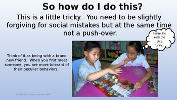 How to be a Peer Buddy; A Detailed Description of the Role and example scripts