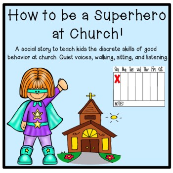 How to be a Superhero at Church