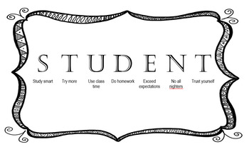 How to be a successful student editable