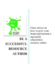 How to be a successful teaching resource author