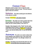 How to be a word detective using context clues Poster