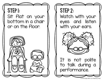 How to be an Awesome Audience! - FREEBIE Coloring Booklet