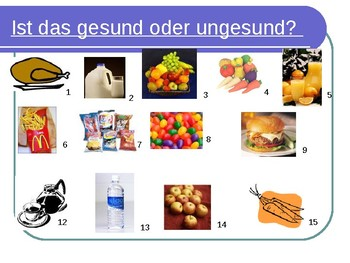 How to be healthy / How to be healthier / Ich soll