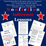 How to be successful when answering  nonfiction inference