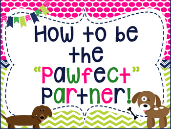 How to be the Pawfect/Perfect Partner. Paw/Dog themed, Pos