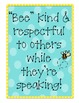 "How to ""bee"" a great speaker and listener! {Kid Friendly Common Core}"