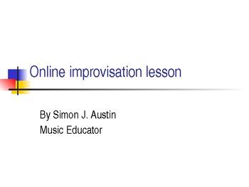 How to begin jazz improvisation