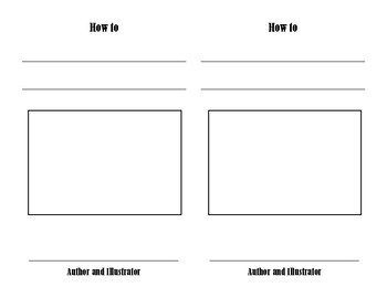 How to booklet template