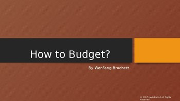 How to budget?