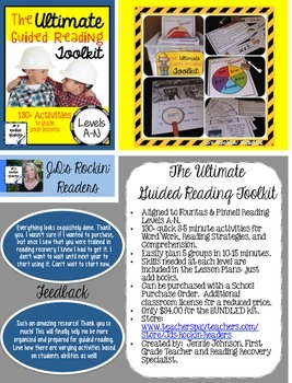 How to buy The Ultimate Guided Reading Toolkit with a Purchase Order- FREEBIE