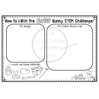 How to catch and trap the Easter Bunny STEM Challenge