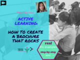 Active Learning : How to create a brochure that rocks
