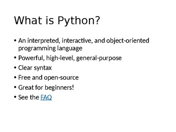 How to create a simple Python program