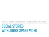 How to create a social story with Adobe Spark