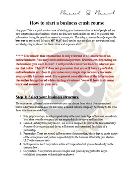 How to create an online business and website for your school