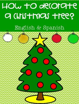 How to decorate a Christmas tree? English and Spanish