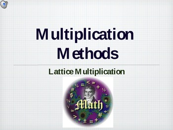 How to do Lattice Multiplication PPT