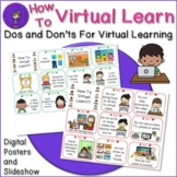 How to do Virtual Learning Slide Show and Posters