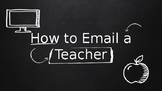 How to Email a Teacher