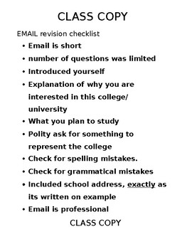 How to email college admissions