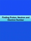 Student Quick Reference for finding proton, neutron and el