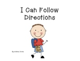 Social Story - How to follow directions (4 steps)