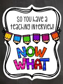 How to get your first teaching job