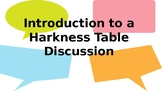 How to have a Harkness Discussion - Introductory lesson