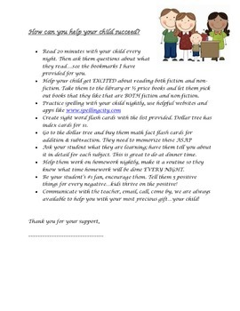 How to help your child succeed!