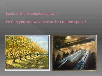 How to create an illusion of space and distance