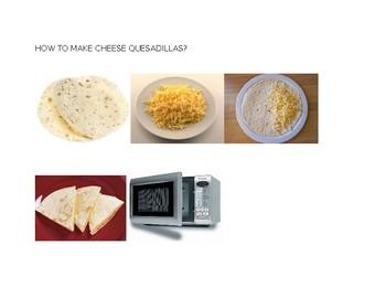 How to make Cheese quesadilla