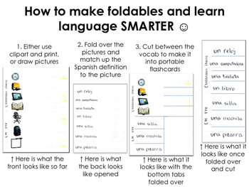How to make Foldables and learn language SMARTER