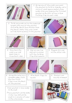 Library Pockets - How to make your own