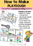 How to make PLAY DOUGH (PROCEDURE WRITING)