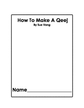 How to make Qeej book-English Version