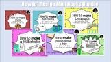 How to make.. Recipe mini books interactive