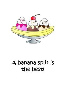 How to make a Banana Split