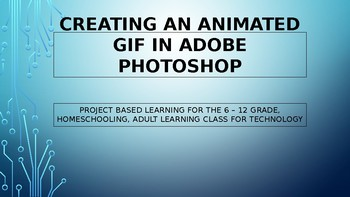 How to make a Gif in Adobe Photoshop
