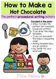 How to make a Hot Chocolate (PROCEDURE WRITING)