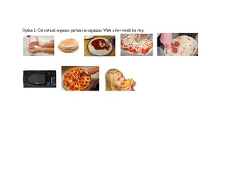 How to make a Pizza Graphic Organizer