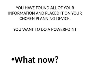 How to make a Power Point