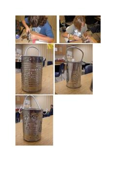 How to make a colonial tin lantern