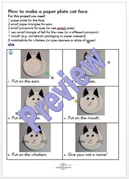 How to make origami cat face - YouTube | 350x252