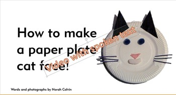 How to make a paper cat face ? step by step/for kids/super easy ... | 190x350